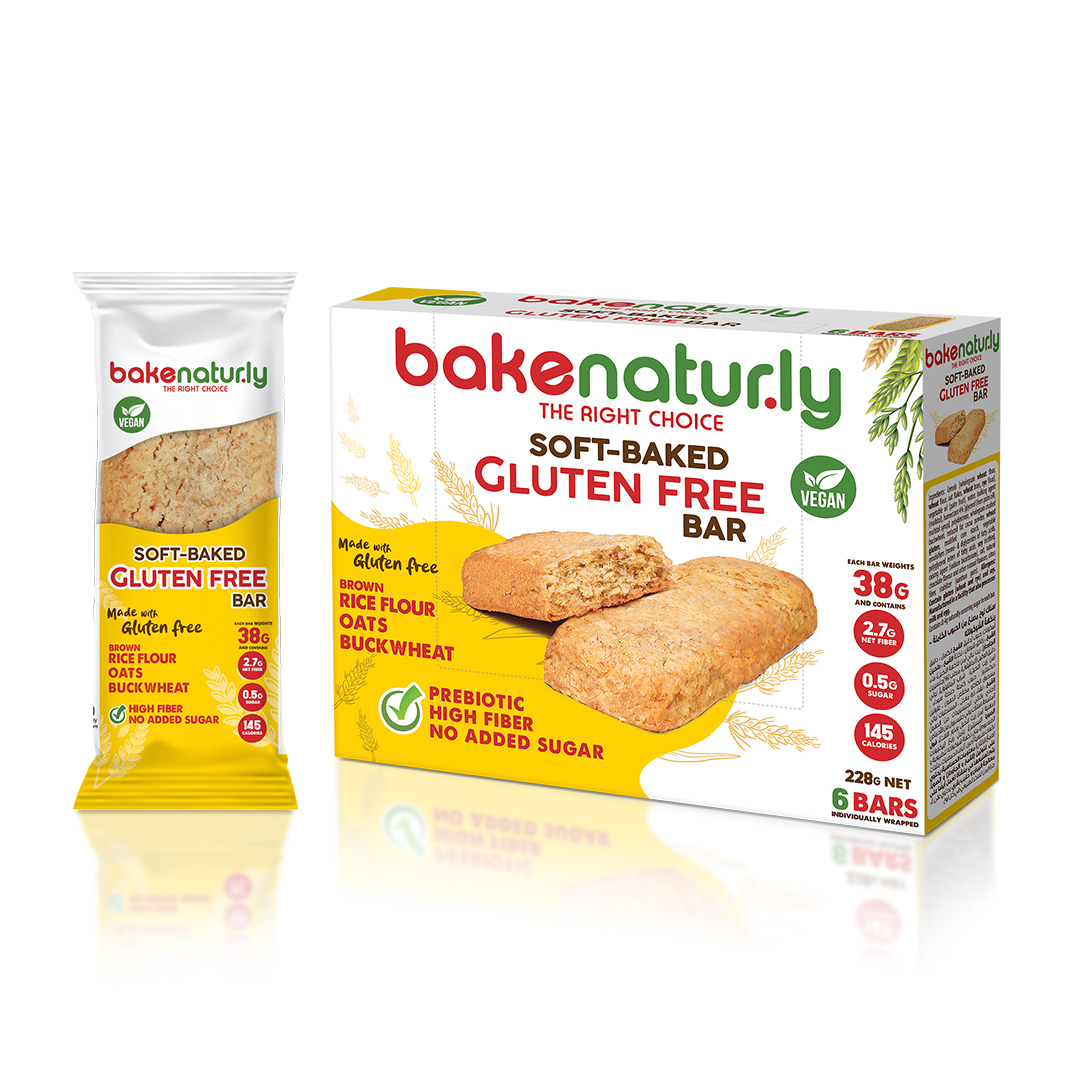 Bake Naturly Gluten Free Bar - Web
